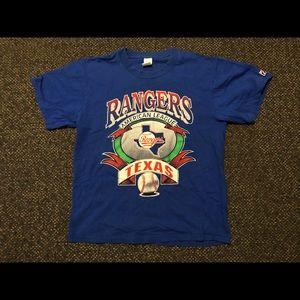 Men's vintage Texas Rangers T-shirt size large
